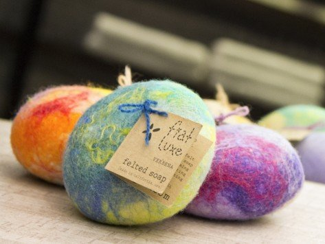 Felted Soap | Mother's Day Gift Guide