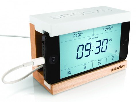 dorm room ideas - smart phone alarm clock