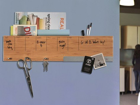 Daily system wall organizer - dorm room ideas